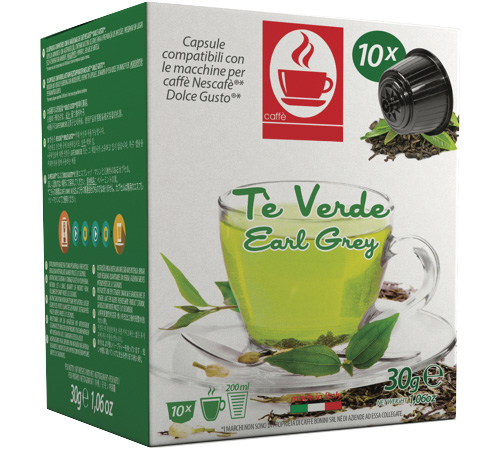Vert Thé X10 Grey Capsules Earl Gusto® Dolce Compatibles thQsxdrC