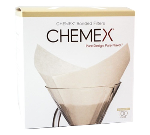 Chemex 100 White Paper Filters For 6 8 Cup Coffee Makers