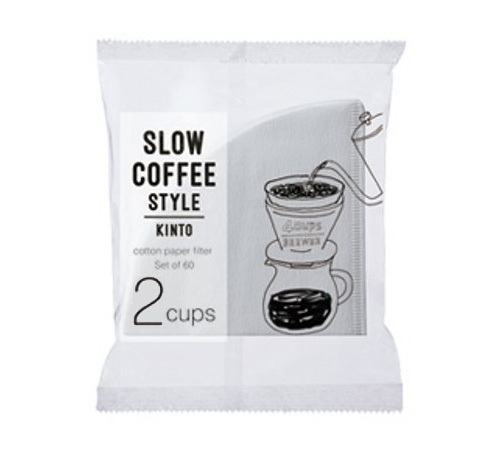 Kinto 2 Cup White Cone Paper Filter Scs 02 Cp 60 X 60