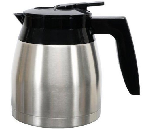 Melitta Spare Coffee Pot For Look Iv Therm Deluxe Or Therm Timer Model Black