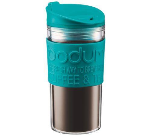 Travel Bleu Bodum Mug Paroi Cl Double Vert 35 Plastique kn80wPO