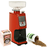 Coffee grinder cleaner