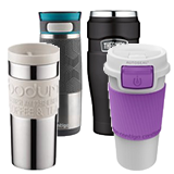 Insulated mugs and tumblers