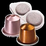 Capsules et dosettes café professionnels