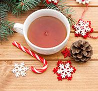 Christmas tea xmas tea