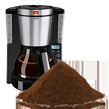 Mouture cafetière filtre
