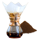 Hario, Chemex and Slow Coffee Coffee Grind