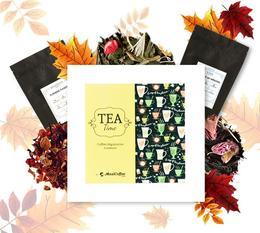 Coffret Tea Time : Couleur d'Automne - 6 x 50 g de thé en vrac