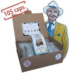 105 Capsules Mister Nelson biodégradables compatibles Nespresso® - Terramoka