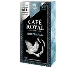 Capsules Aluminium Café Royal Guatemala x10 pour Nespresso