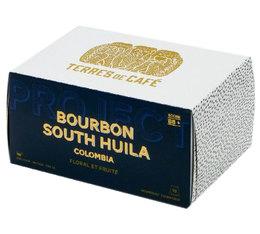 Terres de Café 'Bourbon South Huila' coffee pods for Nespresso x10