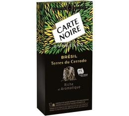 Carte Noire Brésil compatibles Nespresso®- 10 capsules