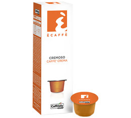 10 x Caffitaly Cremoso capsules for Caffitaly machines
