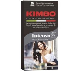 KIMBO Intenso Nespresso-compatible capsules x 10