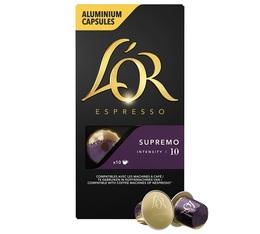 L'or Espresso Supremo compatibles Nespresso® - 10 capsules
