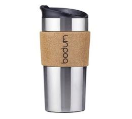 Bodum insulated Travel mug with cork surround - 350ml