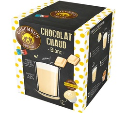 Columbus Café & Co White Chocolate capsules for Dolce Gusto x 12