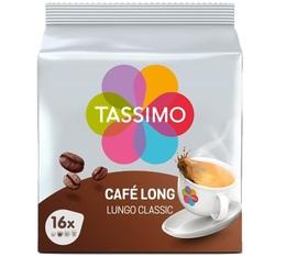 Dosette Tassimo café long classique - 16 T-Discs