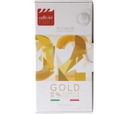 18 dosettes ESE Gold Extra Bar - Caffè del Faro