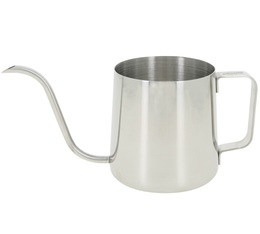 600 ml stainless steel, swan-neck pour over jug - Baristator