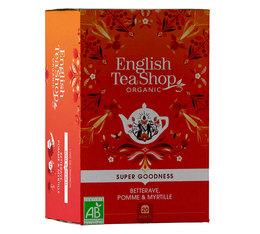 Infusion Bio Betterave, Pomme, Myrtille - 20 sachets - English Tea Shop