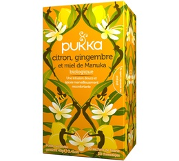Pukka 'Lemon, Ginger & Manuka Honey' organic infusion - 20 sachets