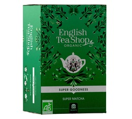 English Tea Shop 'Super Matcha' organic green tea blend - 20 sachets