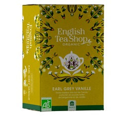 English Tea Shop organic Vanilla Earl Grey - 20 sachets