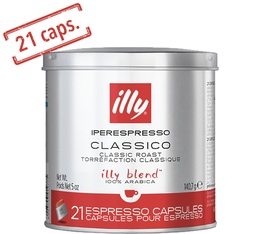 21 x Capsules illy Iperespresso rouge