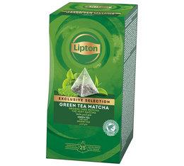 Lipton Green tea matcha - 25 pyramid bags - Exclusive Selection Range
