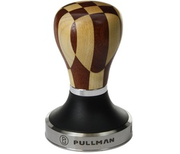 Tamper Pullman 58,55mm base Big Step manche checkerboard