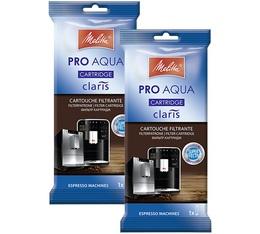 Lot 2 x Cartouche filtrante Melitta Caffeo Claris Pro Aqua