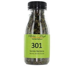 Bouteille Thé vert parfumé 301 Soirée Berbère - 40g -  Alister & Lloyd