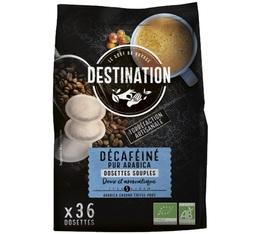 Café dosettes souples Bio Décaféiné x 36 - Destination