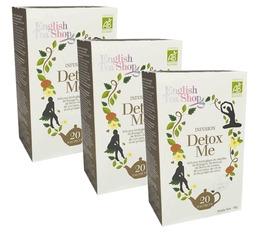 Pack Tisane Detox me - 3 x 20 sachets - English Tea Shop