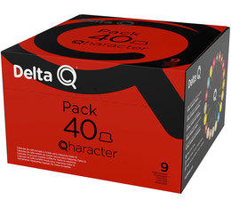 Pack XL - 40 capsules DeltaQ Quaracter
