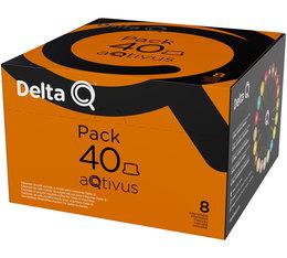Pack XL - 40 capsules DeltaQ aQtivus