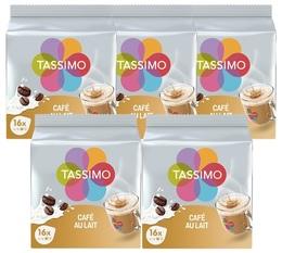 Tassimo Café au lait pods 5 x 16 T-Discs
