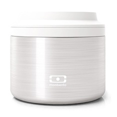 Lunch Box Isotherme Monbento Element Silver 0,65 L