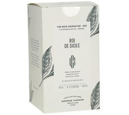 George Cannon 'Roi de Sicile' Organic Earl Grey tea - 20 sachets