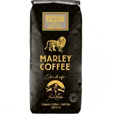 Café en grains bio - 100% Arabica Buffalo Soldier - 227g - Marley Coffee