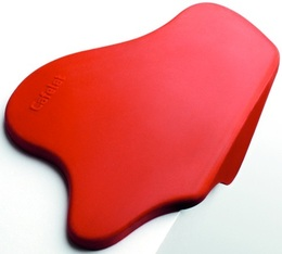 Corner tamping mat in Red - Cafelat