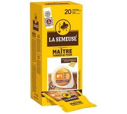 20 dosettes ESE Maître Torrefacteur n°1 - La Semeuse