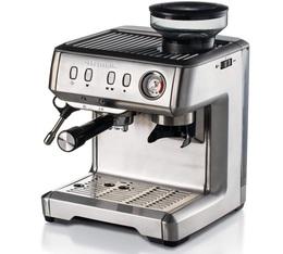 Machine expresso Ariete 1313 inox et moulin intégré + offre cadeaux