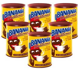 Lot de 6 Chocolats en poudre Recette traditionnelle à cuire 6x500g - Banania