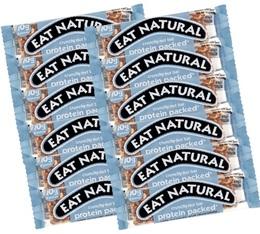 12 Barres gourmandes Protéines (cacahuètes, noix de coco, etc.) - Eat Natural