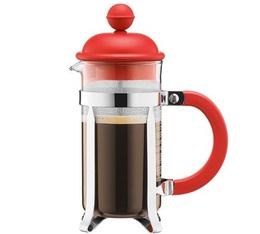 Cafetière à Piston Caffettiera Rouge 3 tasses - 35cl - Bodum