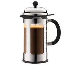 Cafetière à piston New Chambord incassable, 8 tasses - 1L - Bodum