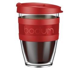 Mug à emporter Joycup 30 cl - Rouge - Bodum