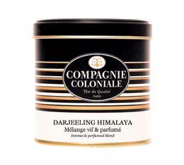 Boite Luxe Compagnie Coloniale Thé noir Darjeeling Himalaya - 100 gr